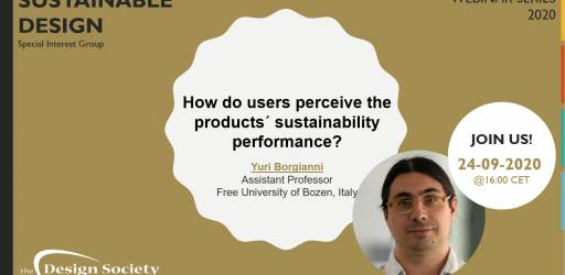 How do users perceive the products´ sustainability performance?